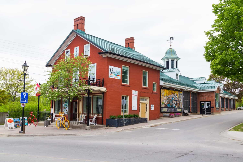Häuschen in Gananoque, Ontario.