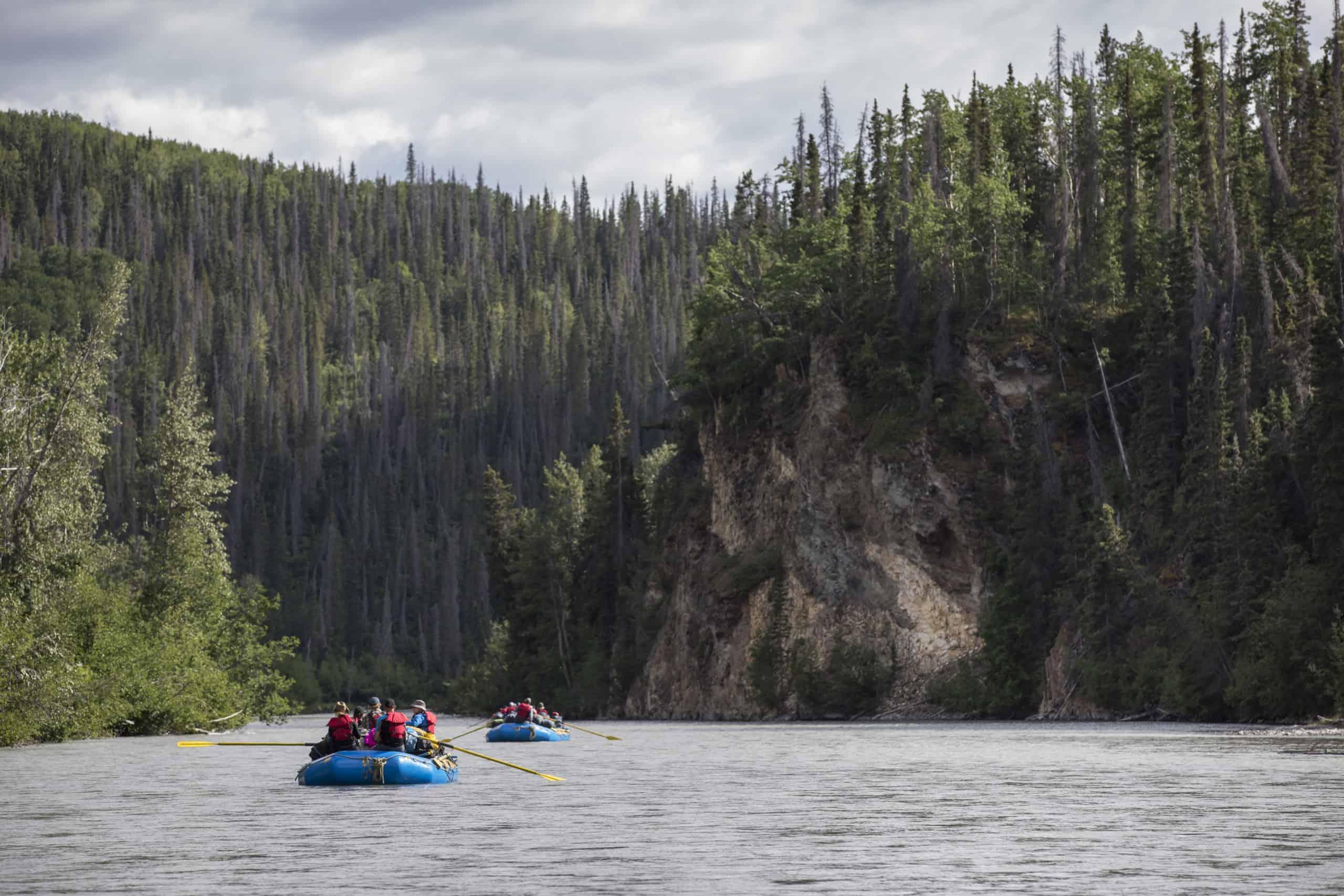 Tatsenshini River Yukon