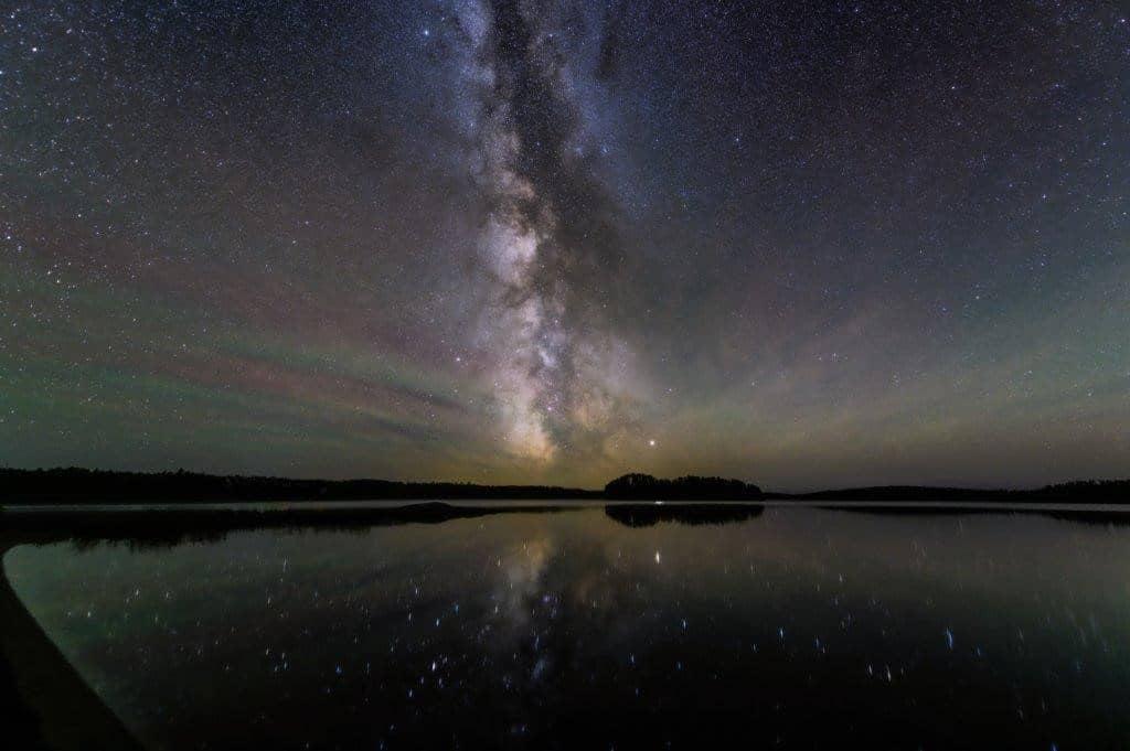 Sternenhimmel im Quetico Provincial Park
